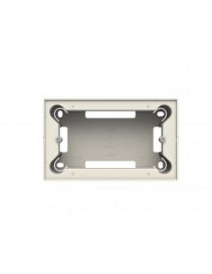 Zócalo blanco de superficie 4 módulos N2994 Bl Serie Zenit de Niessen