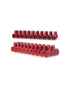 Regleta de conexión de cable con cubierta protectora Serie PRO de Tekox