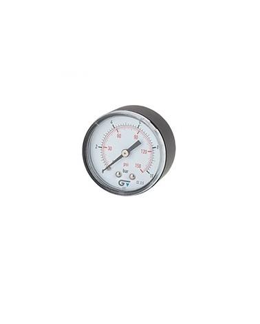 Manómetro conexión posterior de 0 a 10 bar de Genebre