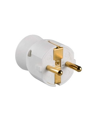 Enchufe macho BLANCO 050187 de Legrand