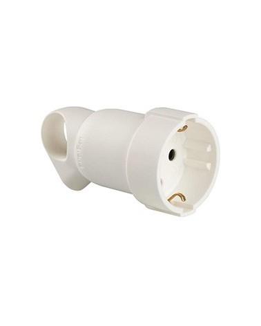 Base de enchufe blanca profesional con anillo tirador 050191 de Legrand