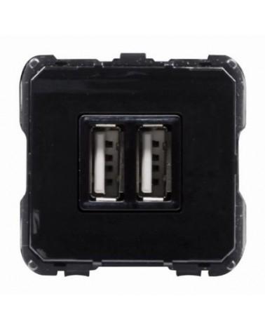 Mecanismo toma cargador doble USB 8185 de Niessen.