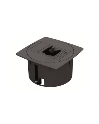 T2110AN Pasacable para techo y suelo técnico color antracita Niessen