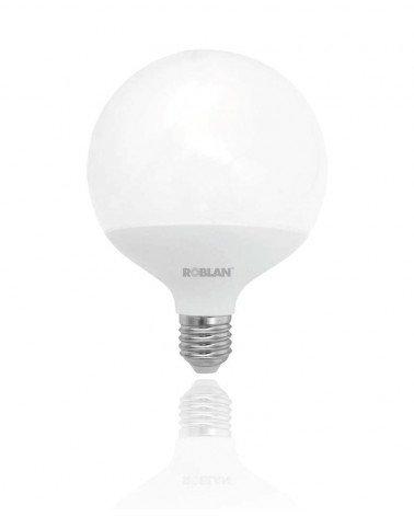 Bombilla LED Globo 18W 3K E27 ROBLAN