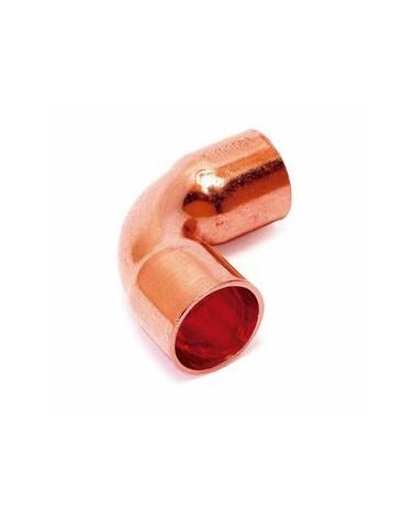 Curva de cobre para soldar 12X90º Hembra Hembra de Comap-Sudo