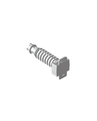 Taco gris para brida Unex 1251-3 bolsa de 100 unidades