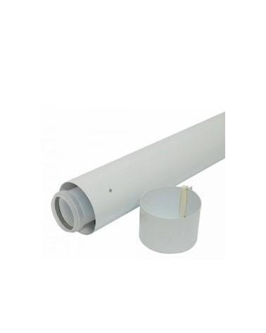 Tubo prolongación 60/100 X 1mt. para calderas de condensación de Vaillant