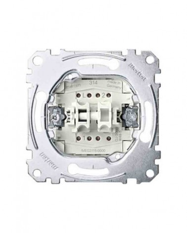 Mecanismo doble interruptor MTN3115-0000 de Schneider