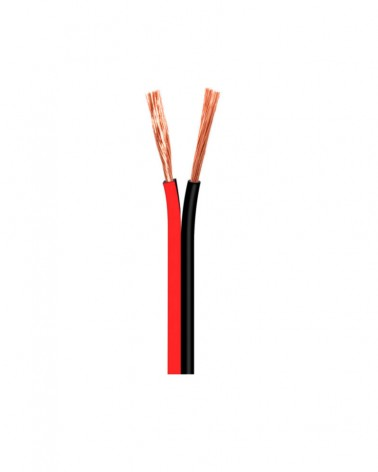 Cable paralelo rojo-negro 2x1