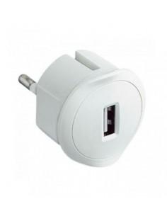 Enchufe adaptador cargador USB 050680 de Legrand