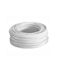 Cable manguera blanca 2X1. Precio por metro.