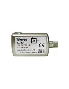 """Filtro LTE60 """"F"""" C21-60 SEL 403401 de Televes"""