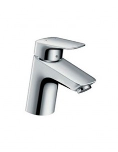 Grifo de lavabo Logis 70 PUSH-OPEN 71077000 de Hansgrohe