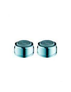 Blister de dos aireadores ahorradores rosca Macho 13958002 de Hansgrohe
