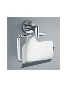 Salgar sil - Portarrollos con tapa silver 140x100x130mm cromo/cromada