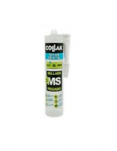 Sellador polímero transparente 300ml TOT-MS Cristal de Collak