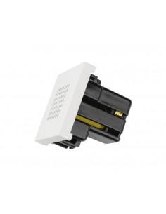Zumbador 2 módulos Blanco N2219BL Serie Zenit Niessen