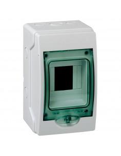 Armario de superficie con puerta transparente Minikaedra de Schneider