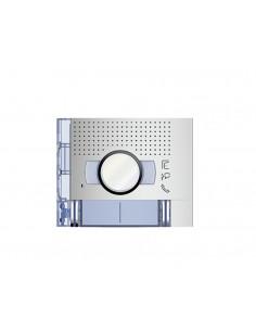 Placa frontal audio/vídeo 2 pulsadores 2 columnas Sfera New 351221