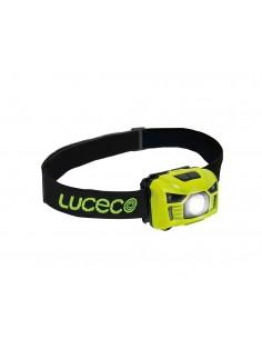 Linterna Led de cabeza USB recargable 3W 150Lm de Luceco